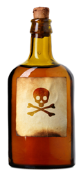Alcohol Poison Bottle - DrunkDrivingDefense.com