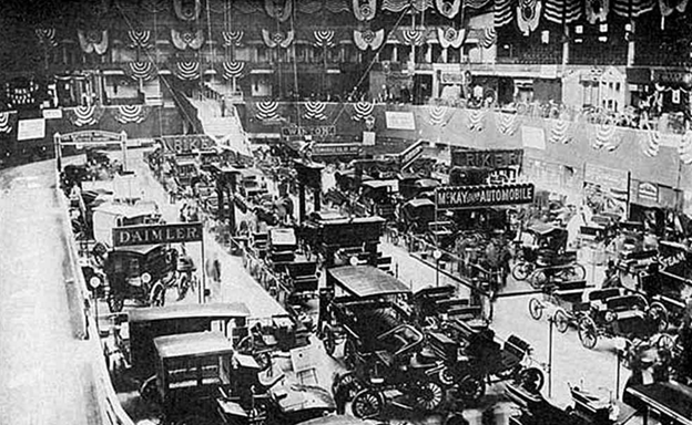 First US Automobile Show